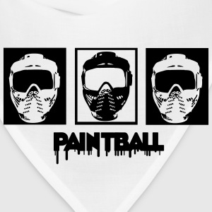Paintball,paintball mask,marker,paint ball gun, T-Shirts - Bandana