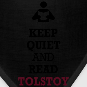 Keep Quiet and Read Tolstoy Women's T-Shirts - Bandana