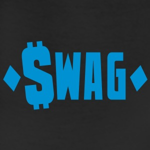 swag $WAG with dollars and diamonds Caps - Leggings