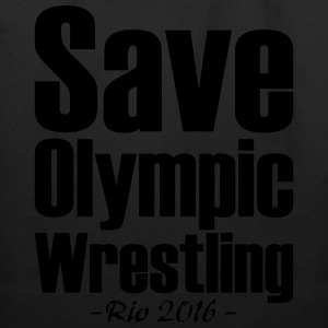 Save Olympic Wrestling T-Shirts - Eco-Friendly Cotton Tote