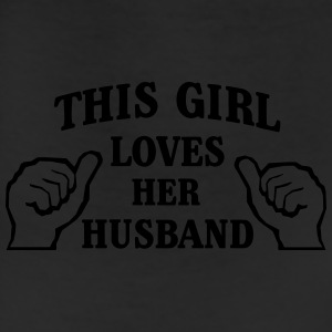 This Girl Loves Her Husband Women's T-Shirts - Leggings