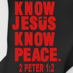 KNOW JESUS.KNOW PEACE. 2 PETER 1:2 Women's T-Shirts - Leggings