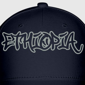 Ethiopia Graffiti Outline T-Shirts - Baseball Cap