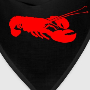 Red Lobster Outline T-Shirts - Bandana