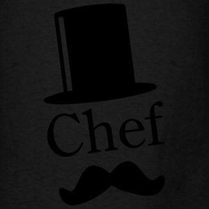 Like a Chef / Mustache / Moustache 1c Bags & backpacks - Men's T-Shirt