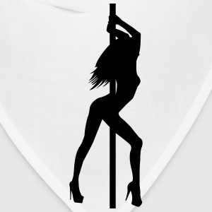 Stripper - Pole Dancer - Nude - Sexy - Strip Club T-Shirts - Bandana