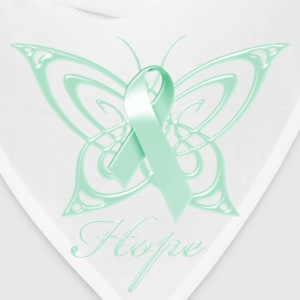 Ovarian Cancer Hope Butterfly Phone & Tablet Covers - Bandana