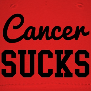 Cancer Sucks Women's T-Shirts - Baseball Cap
