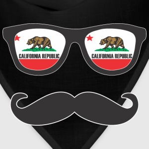 Mr Mustache California Hoodies - Bandana