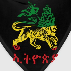 Ethiopia - Lion of Judah 3 color - Bandana