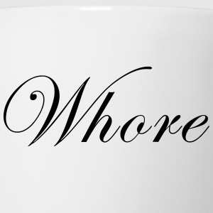 Whore Women's T-Shirts - Coffee/Tea Mug