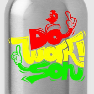 Do work son - Water Bottle
