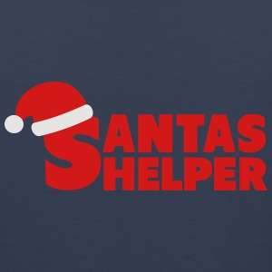 Santas Helper T-Shirts - Men's Premium Tank
