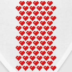 geek heart for phone case Phone & Tablet Cases - Bandana