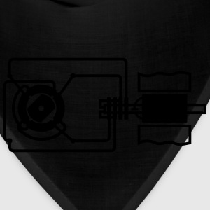 Researchers and inventions: electric motor T-Shirts - Bandana