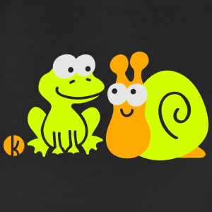 Frog and Snail Buddies Kids' Shirts - Leggings