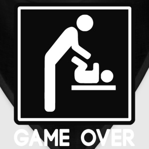 Game Over New Baby for Parent Dad T-Shirts - Bandana