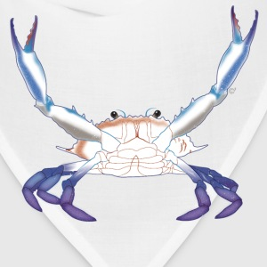 Maryland Blue Crab with arms/claws extended - Bandana