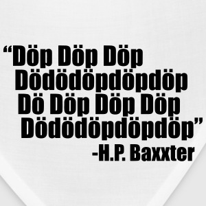 Scooter H.P. Baxxter quote - Bandana