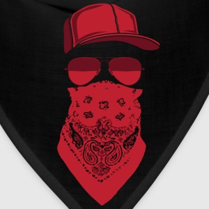 red blood gang member  T-Shirts - Bandana