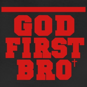 GOD FIRST BRO Women's T-Shirts - Leggings