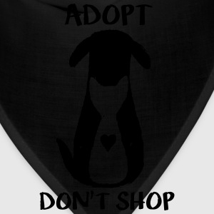 Adopt don't shop T-Shirts - Bandana