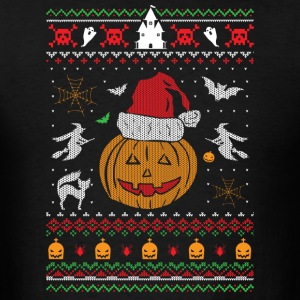 Ugly Christmas Sweater Halloween Edition Sportswear - Men's T-Shirt