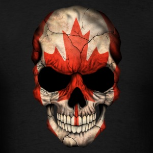 Canadian Flag Skull Sportswear - Men's T-Shirt