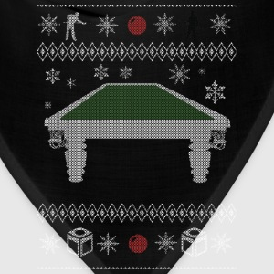 Ugly Christmas sweater for Billiards snooker - Bandana