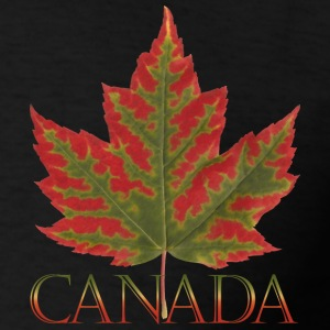 Plus Size Canada Maple Leaf Hoodie Canada Souvenir - Men's T-Shirt
