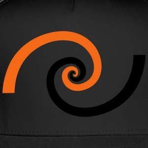 Golden spiral, Fibonacci, Phi, geometry, physics T-Shirts - Trucker Cap