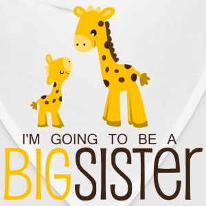 I am going to be a Big Sister Kids' Shirts - Bandana