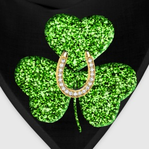 Shamrock And Horseshoe Shirt - Bandana
