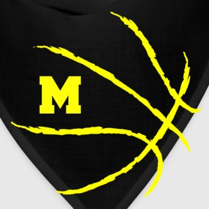 Michigan Wolverines U of M basketball shirt - Bandana