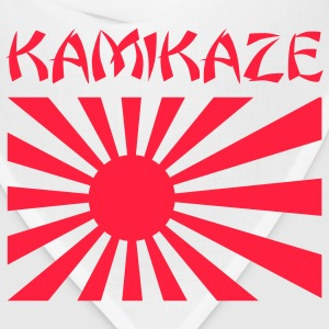 White Kamikaze Japanese Rising Sun Flag Men - Bandana