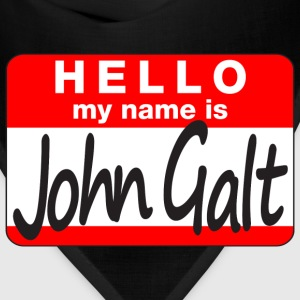 Standard HELLO my name is John Galt pick-a-color tee - Bandana