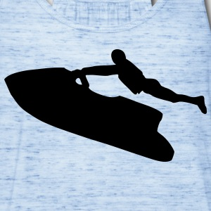 Sky blue Jet Ski T-Shirts - Women's Flowy Tank Top by Bella