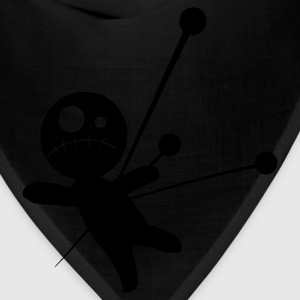 Black Voodoo Doll T-Shirts - Bandana
