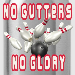 Black No Gutters No Glory T-Shirts - Water Bottle