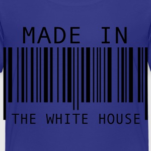 Turquoise Made in The White House Kids' Shirts - Toddler Premium T-Shirt