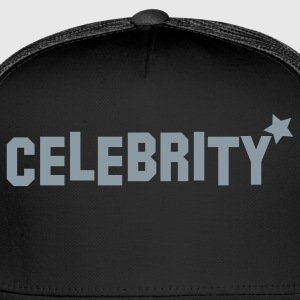 celebrity with star  T-Shirts - Trucker Cap