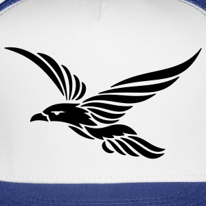 tribal_raven_1c T-Shirts - Trucker Cap