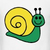 Green Snail Kids' Shirts - Men's T-Shirt