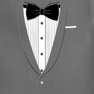 Fake Tuxedo T-shirt - Adjustable Apron