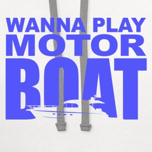Wedding Crashers Motor Boatin T-Shirts - Contrast Hoodie