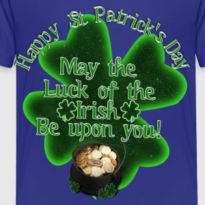 Happy St Patrick's Day - Pot of Gold - Toddler Premium T-Shirt