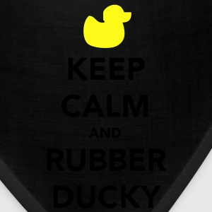 Keep Calm and Rubber Ducky T-Shirts - Bandana