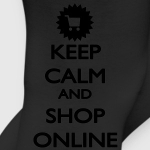 Keep Calm and Shop Online T-Shirts - Leggings