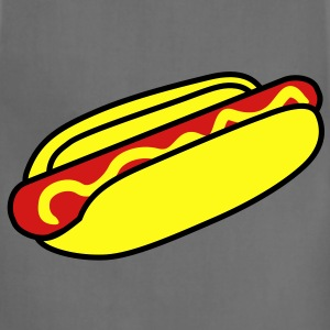 fastfood_hotdog_3c T-Shirts - Adjustable Apron