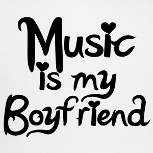 Music is my Boyfriend Vector T-Shirts - Trucker Cap